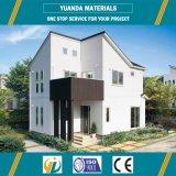 Construcción de viviendas certificada australiana con la estructura de acero y los paneles de Alc