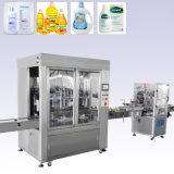 Tipo linear línea de relleno máquina del detergente líquido de etiquetado de la embotelladora