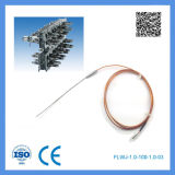 Type de Feilong K/J thermocouple chaud de turbine de forme de pointeau pour des machines de moulage par injection