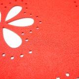полиэфир 100% сезона весны 3mm & 5mm Placemat для Tabletop