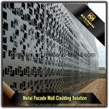 외부 장식적인 Laser 커트 알루미늄 관통되는 외벽 클래딩