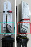 Chiusura ottica della giuntura -- 1 porta ovale, 4 porte rotonde