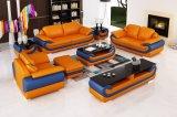 Sofá moderno de cuero seccional de ocio