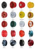 Горячие виды сбывания оправы колеса стального колеса пластичной