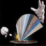 Tegel van de Vloer van pvc van de Prijs van de fabriek de Woon Marmeren Vinyl
