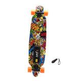 2 motor Vier het Elektrische Skateboard van Wielen met Verder