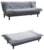 Gepolstertes Sofabed mit Metallrahmen