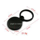 Porte-clés en métal assorti simple assorti personnalisé
