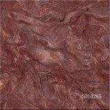 Tegel van het Exemplaar van de rode Kleur de Marmeren Volledige Verglaasde Opgepoetste