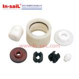 Weiße POM Produkte, die Teile maschinell bearbeiten