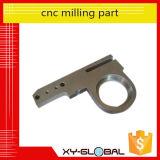 Pieza trabajada a máquina cobre del CNC