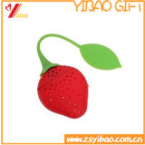 2017 Silicone Strawberry Tea Infuser Strainer Herbal Spice Infuser Filter Tools