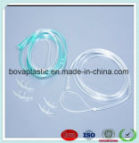 High Quality Non - Toxic Clear PVC Nasal Oxygen Cannula Catheter