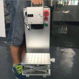 50W láser de fibra portátil máquina de la marca grabado de metal