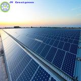 Central eléctrica solar verde del Jv picovoltio