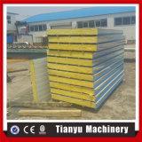 Chaîne de production de panneau de toit et de mur de sandwich à ENV roulis formant le prix de machine