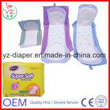 La serviette hygiénique de femmes de maille complète le produit de hygiène féminine