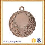 亜鉛合金のカスタムマラソンの連続したスポーツは競争の挿入メダルをランク付けした