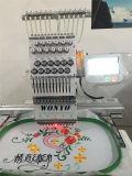 WonyoのTシャツおよび帽子Wy1501CSのための単一のヘッド刺繍機械