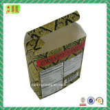 Caja de embalaje de papel suave plegable