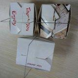 Máquina del rectángulo del cartón de papel del alambre del hierro
