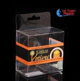 De duidelijke Verpakkende Doos van het Stuk speelgoed van de Blaar Pet/PVC Plastiek Gelamineerde Materiële