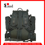 Black Military Molle Tool Backpack