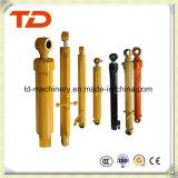 Cilindro do petróleo do conjunto do cilindro hidráulico do cilindro do braço de Doosan Dh60-7 para peças sobresselentes do cilindro da máquina escavadora da esteira rolante