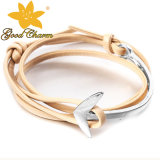 LTB-16122702b Nieuw kom Armband van de Charme van de Armband van de Juwelen van de Manier de Zilveren aan