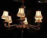 Lámpara pendiente antigua con cobre y vidrio para el hogar o el hotel