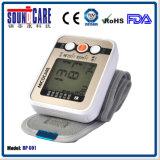 Nova chegada! Medidor de pressão arterial digital de pulso com luz de fundo (BP 601)