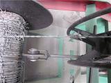 Positiver und negativer verdrehter Hochgeschwindigkeitsstacheldraht, der Maschine herstellt