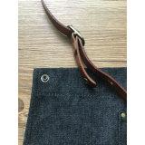 Рисбермы Barista джинсовой ткани черноты верхнего качества с кожаный планкой для сбывания