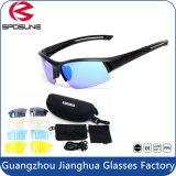 Anti UVA UVB forma nova do PC da lente dos esportes ao ar livre dos óculos de sol antiofuscantes Shatterproof que conduz competindo vidros