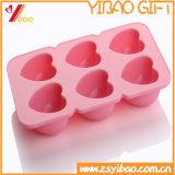 Ketchenware Anti-Desvanece-se o molde macio do chocolate do cubo de gelo do silicone (YB-HR-1)