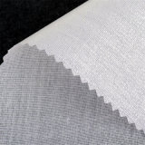 Het Interlining van het Overhemd van de Kraag van de polyester Smeltbare HDPE Norm 100 van oeko-Tex van de Deklaag