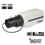 Pixel 1.3mega CMOS-Netz CCTV-Kasten IP-Kamera