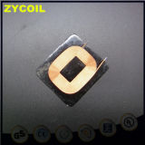 bobina quadrada do indutor de 34.6*37.6mm com ferrite
