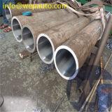 Tubo afilado con piedra redondo del cilindro hidráulico del acero inoxidable 316L