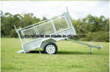 7X5 8X5 laste Lange Trekbalk van de Aanhangwagens van de Hete ONDERDOMPELING de Gegalvaniseerde ultra