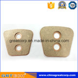 Botón auto de cerámica sinterizado superventas del embrague en China