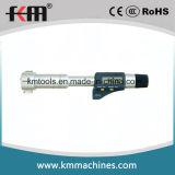 6~8mm Digitas três micrômetros internos do ponto