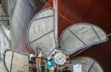Elica marina della pala del ventilatore, elica del timone del crogiolo di elica marina