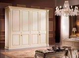 Wardrobe de madeira ajustado/armário da mobília moderna do quarto