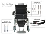 セリウムの証明書が付いているカスタマイズ可能なE王位のFoldable軽量のブラシレス電動車椅子