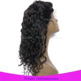 Peruca brasileira não processada do Frontal do laço do cabelo 360 do Virgin de 100%