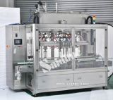 Máquina de rellenar automática y máquina que capsula para producir el líquido del lavado