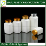 белая Inclined бутылка пластмассы микстуры плеча 50ml-250ml