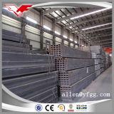Tubo vuoto quadrato laminato a caldo dell'acciaio della sezione del pacchetto ASTM A500 dell'esportazione