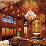 Tablilla y techo artísticos de madera (GSP9-076) del diseño moderno